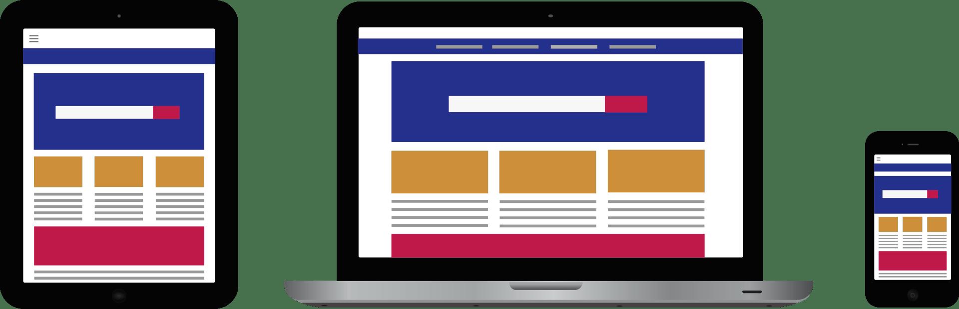 Responsive websites by Raya Design Belfast